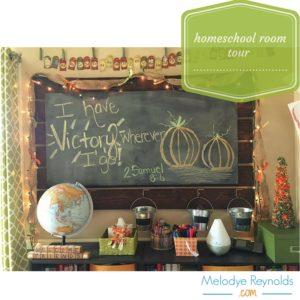 Homeschool Room Tour Melodye Reynolds