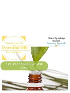 Introduction to Essential Oils Class Recording