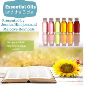 Essential oils and the bible
