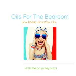 bedroom oils
