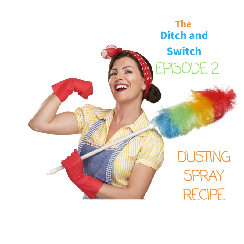 All Natural Dusting Spray Recipe