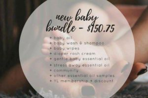 young living baby line